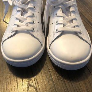 Adidas All White Stan Smith Sneakers Sz 5